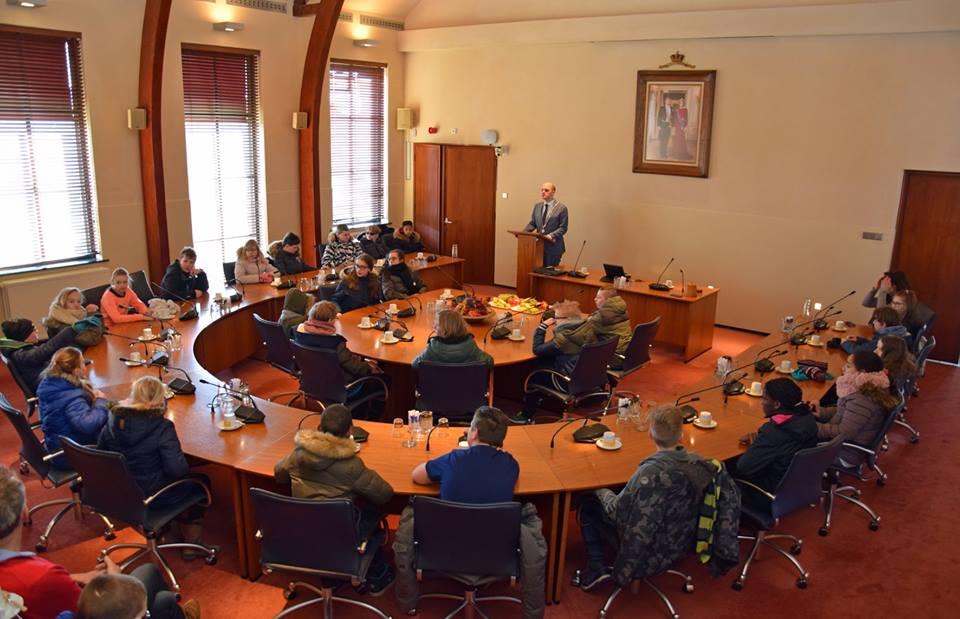 bezoek korenburg raadszaal